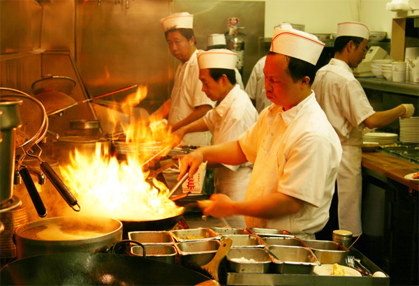 Chinese Cooking Section